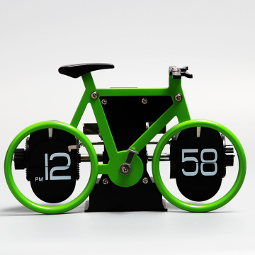 12 AM / PM Mini Mesa Flip Clock Bicicleta