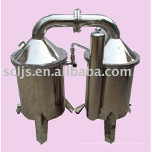 Electric high effect energy efficient water distiller machine