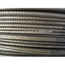 Barra de acero deformada / varilla de acero / barra de acero de corrugado CRB550 para la construcción