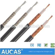 Cabo coaxial que faz a máquina cabo forcoaxial cabo coaxial de rc58 75ohm 5c2v