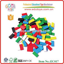 100pcs Wooden Enlighten Brick Toys