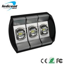 LED Tunnel Licht 180W Aluminium in schwarzer Farbe