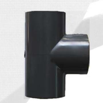 ASTM Sch80 Upvc Tee Dark Grey Color