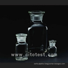Glass Material Wide Mouth Reagent Bottles (4033-0030)