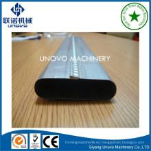 Rodillo de tubo de metal oval que forma la maquinaria