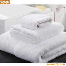 Toalha de turco 100% algodão na cor branca (DPF2438)