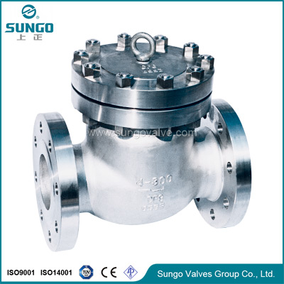 One way check valve
