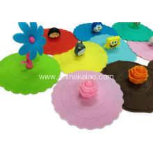 Anti-dust Silicone Cover Lids For Mug Cup