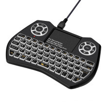 Cool Design I9 plus 2.4G Wireless Mini Keyboard For Android Devices With Touchpad Up To 10 Meters