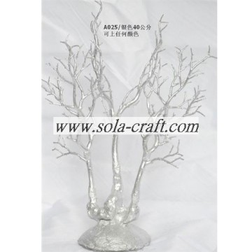 Silver Color 40CM Crystal Wedding Bead Garland Tree Centerpiece