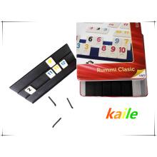 Рамми игра в бумажные/коробка олова