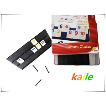 Juego de Rummy en caja de papel / hojalata