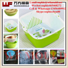 OEM Custom Household Products Plastic Basket Mould for Fruits and Vegetables