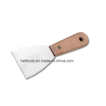 Manche en bois de couteau mastic