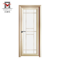 2018 china alibaba new interior position aluminum glass alloy door