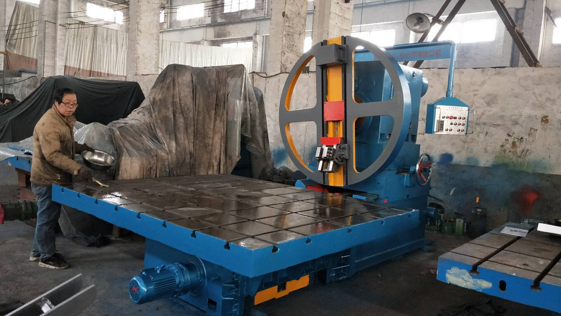 two side auto beveling machine