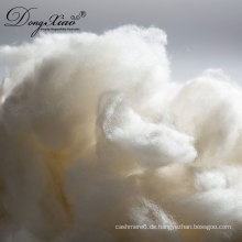 2017 neue Produkte Großhandelspreis Lager rohe weiße rohe Wollfaser