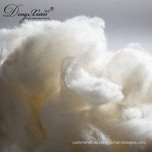 2017 nuevos productos de precio al por mayor stock de fibra de lana cruda blanco crudo