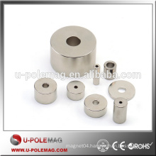 Customized High Quality Cylinder Shape Magnets with Hole