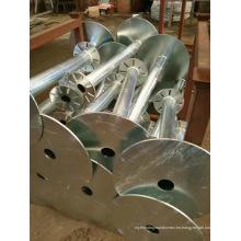 Construcción de tornillo de tierra HDG