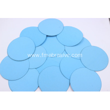 Blue Abrasive Velcro Disc Metal Polish