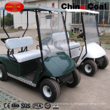 Carrito de visita turístico de excursión del golf de la motocicleta eléctrica solar de 2 asientos