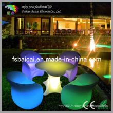 Canapé à LED Bar Table Mobilier de discothèque