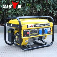 BISON CHINA TaiZhou OHV com motor refrigerado a ar Astra Korea 2.5kw 2.5kva GX200 Gerador de gasolina