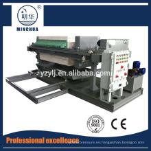 filtro automático prensa jarabe de arce filtro prensa