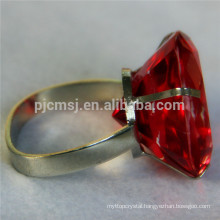 red crystal diamond for napkin ring