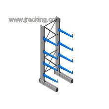 Hoja de metal resistente ajustable y estable que sostiene el estante de exhibición de metal de grieta voladizo montado en la pared