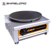 ShineLong Heavy Duty Pancake Commercial Crepe Maker y placa caliente