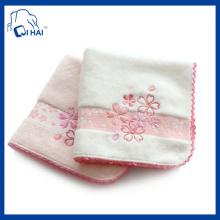 30cmx30cm Velour Stickerei Hand Handtuch (QH90033)