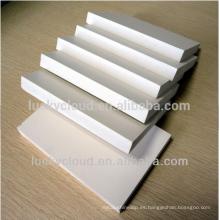 Tablero de construcción de PVC Tablero de PVC Tablero de espuma de PVC blanco