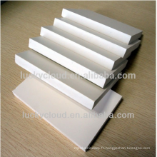 Panneau de construction d'armoire PVC PVC Panneau de mousse PVC blanc