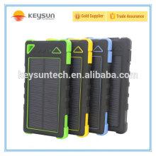 Nouveaux produits 2016 batterie étanche à l'énergie solaire 8000mah 20000mah powerbank