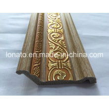 Wooden Color PS Decoration Moulding Cornice