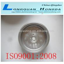Aluminium-Griffguss, Griffguss mit Polieren