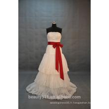 EN STOCK Robe de mariée en dentelle à encolure dégagée Robe de mariée en dentelle évasée SW08