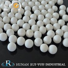 White Spherical Porous Particle High Alumina Ceramic Balls as Grinding Ball