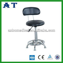 spring control height stainless steel revolving stool with low price