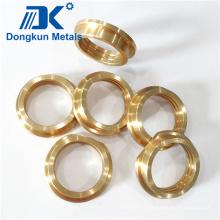 Casquillo de mecanizado CNC de bronce y latón personalizado