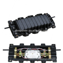 Horizontal splice closure 12 core, fiber optical aerial cable closures for FTTH FTTB FTTX Network