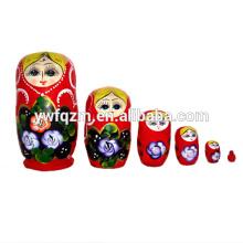 Fábrica que suministra muñecas de Matryoshka de madera