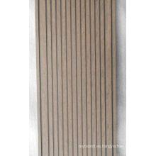 Decking compuesto plástico de madera de 225 * 31m m con SGS, Fsc, certificado del CE