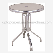 Aluminum Table with Glass Table Top for Outdoor Garden (SP-AT371)