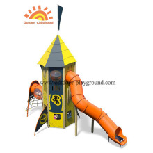 Equipo de patio de juegos HPL Outdoor Activity Tower