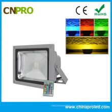 30 Вт RGB светодиодный Прожектор с аттестацией CE и RoHS