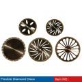 venda quente china disco abrasivo de diamante com preço de atacado