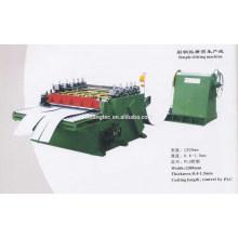 Máquinas de corte de acero usadas proveedor china de oro